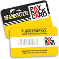 Mamouth pay back card